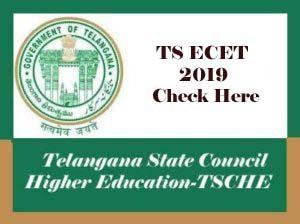 TS ECET 2019, ECET 2019, TSECET 2019, TS ECET 2019 Notification, Exam date, Online Application form, Eligibility