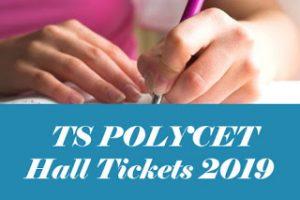 TS POLYCET Hall ticket 2019, TS POLYCET Hall ticket Download 2019, TS CEEP Hall ticket 2019
