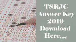 TSRJC Answer Key 2019, TSRJC Key 2019, TSRJC 2019 Key, TSRJC 2019 Answer Key