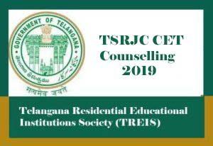 TSRJC Counselling 2019, TSRJC 2019 Counselling, TSRJC Counselling Details 2019