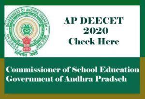 AP DEECET 2020, AP TTC 2020, AP DIETCET 2020 : Notification, Exam date, Online Application form, Eligibility