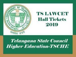 TS LAWCET Hall ticket 2019, TS LAWCET Hall tickets 2019, TS LAWCET Admit card 2019, TS LAWCET Hall ticket Download 2019