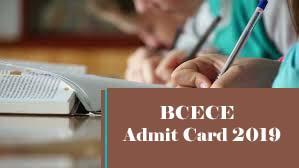 BCECEAdmit card 2019 Download, BCECEAdmit card Download 2019, BCECE2019 Admit card