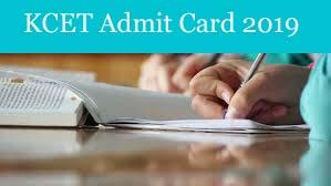 KCET Admit card 2019, KCET Admit card Download 2019, KCET Hall ticket 2019