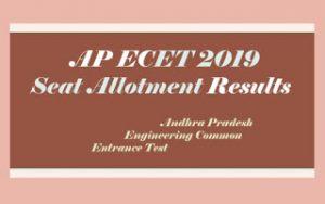 AP ECET Allotment Order 2019, AP Seat Allotment 2019, AP ECET Seat Allotment Order 2019