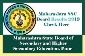 Maharashtra SSC Result 2019 Check Online, Maharashtra 10th Result 2019, SSC Result 2019 Maharashtra