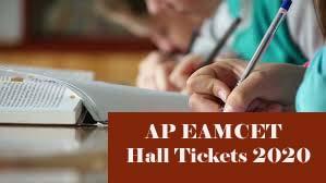 AP EAMCET Hall ticket 2020, AP EAMCET Hall ticket Download 2020, AP EAMCET 2020 Hall ticket Download