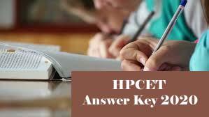 HPCET Answerr key 2020 Download, HPCET 2020 Answer Key