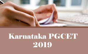 Karnataka PGCET 2019 :Exam date, Notification, Online application form, Exam Pattern, Dates, Eligibility