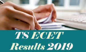 TS ECET Results 2019, TS ECET Result 2019, TS ECET 2019 Results