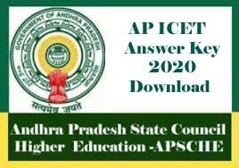 AP ICET Answer Key 2020, AP ICET Key 2020, AP ICET 2020 Answer Key