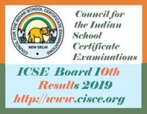ICSE 10th Result 2019, Date ICSE Results 2019, ICSE Board Result 2019, ICSE 2019 Result, ICSE Result 2019 Class 10