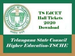 TS EdCET Hall ticket 2020, TS EdCET Hall ticket Download 2020, TS EdCET Hall tickets 2020