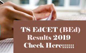 TS EdCET Results 2019, TS EdCET 2019 Results, TS BEd Results 2019, TS EdCET Result 2019