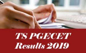 TS PGECET Results 2019, TS PGECETResult 2019, TS PGECET 2019 Results