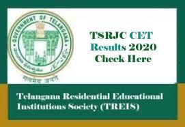 TSRJC Results 2020, TSRJC Results Date, TSRJC CET 2020 Results, TSRJC 2020 Results